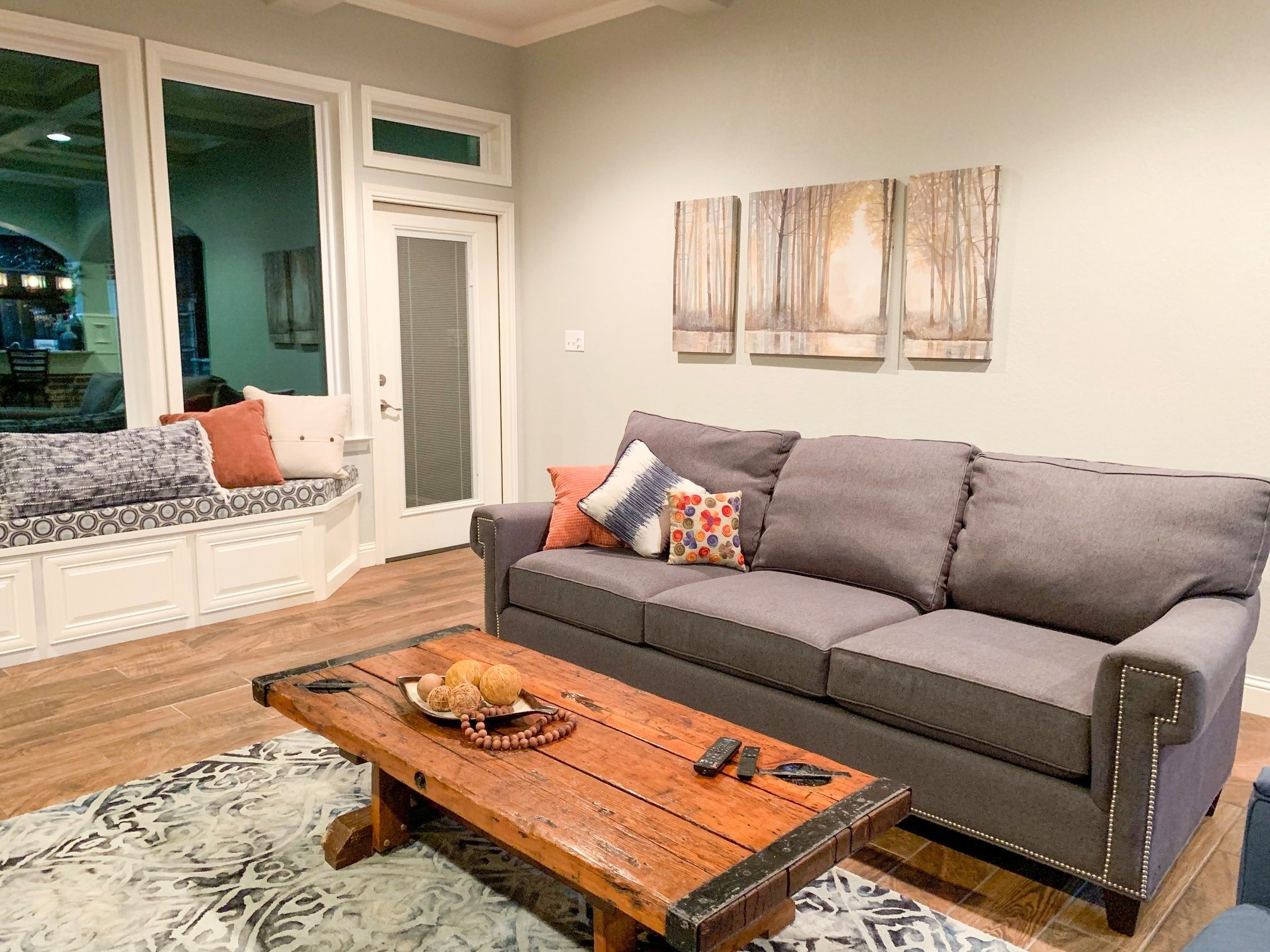 Occupied Home Staging Example