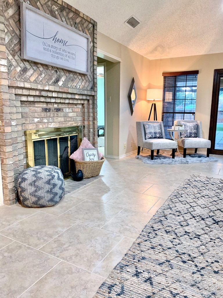 Beverly Living Room & Entry Project